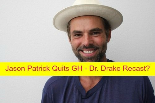"""General Hospital"" spoilers are that Jason Thompson is OUT, and GH rumors floating around that Dr. Patrick Drake is leaving Port Charles are absolutely true."