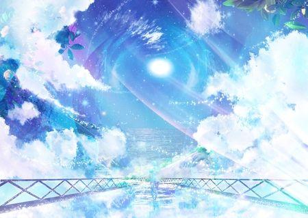 Anime background google zoeken anime landscape - Anime sky background ...