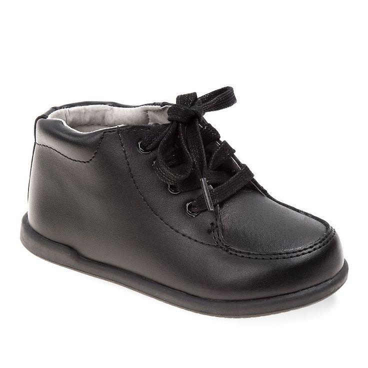 Smart Step Baby / Toddler Walking Shoes, Kids Unisex, Size: 5.5 T, Black