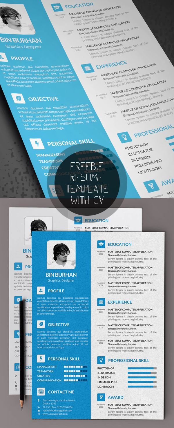 71 best Resume images on Pinterest | Resume design, Resume ...