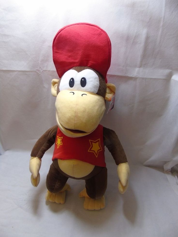 Diddy Kong Super Mario Plush Toy Over 50Cm. | eBay!