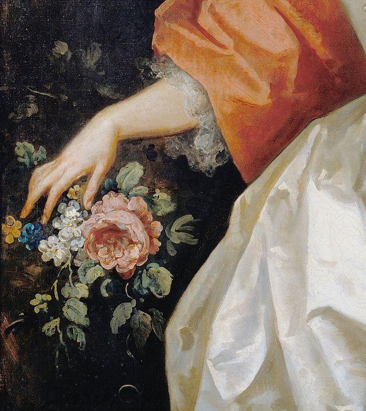 Portrait of A Woman in White by John Vanderbank,1738