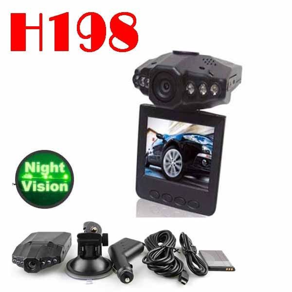 H198 Car DVR with 2.5 TFT LCD SCREEN 6 LEDs for IR and night vision - Get this on this weekly deals - Shop Now #deals #cardvr #camera #sale #dealoftheweek