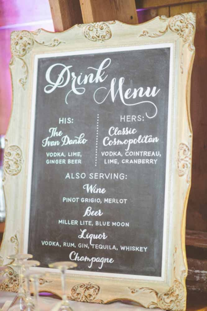 DIY Wedding Cocktail Bar Guide & How To