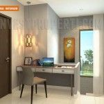 Design work room / study room Nusa Loka Park BSD.
