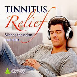 Track Length: 30 minutes Sound Design: Soothing pads & ohms Sound Waves: Theta (5hz)  Tinnitus Relief uses a scientifically-proven theta blueprint combined with a soothing, hypnotic soundtrack to relieve the annoyance caused by ringing or buzzing in the ears.  Studies show that