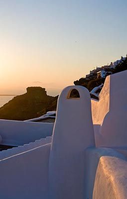 Old Chimney Detail, White, Volcano, Imerovigli, Santorini