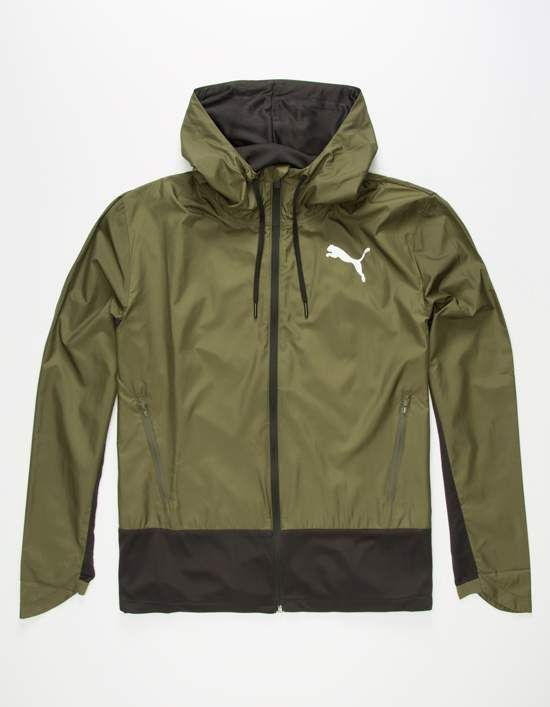 Puma Energy Mens Windbreaker Jacket
