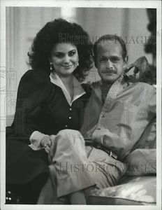 "1988 Press Photo Delta Burke and Gerald McRaney in ""Designing ..."
