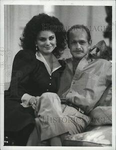 "1988 Press Photo Delta Burke and Gerald McRaney in ""Designing ..."