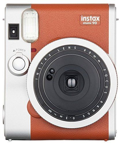 Fujifilm Instax Mini 90 Instant Film Camera (Brown) Fujifilm