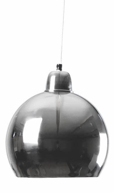Lyktan-Riippuvalaisin Bill, Ø280x300mm, pieni hopea