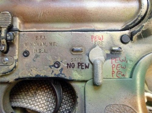 This could have gone on the geek humor board too. OutOfRegs - Archives | Pew Pew Pew