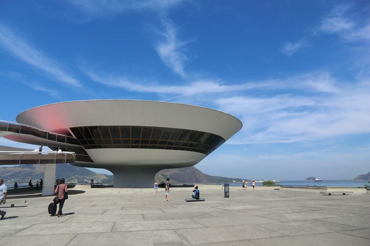 Built by Oscar Niemeyer in Niterói, Brazil with date 1996. Images by Gili Merin…