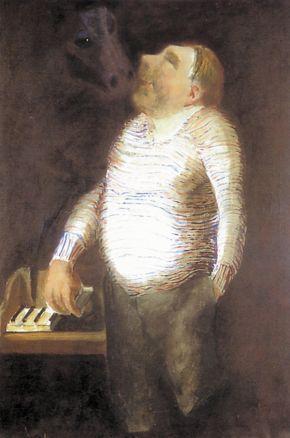 Josef Sima ( Czech: 1891 – 1991) | Portrait of Vítězslav Nezval 1932
