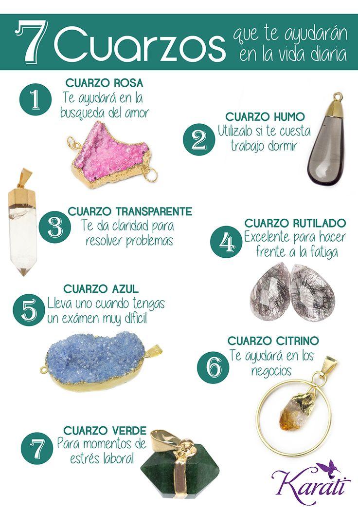 7 #cuarzos que te ayudarán a resolver los problemas de la vida diaria.