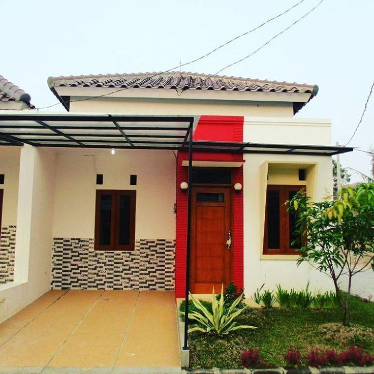 Gambar Rumah Minimalis Terbaru 1 Lantai Canopy