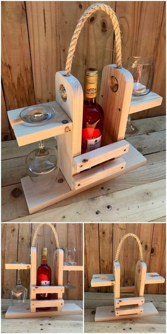 30+Unique Cheap Pallet Wooden Furniture Ideas
