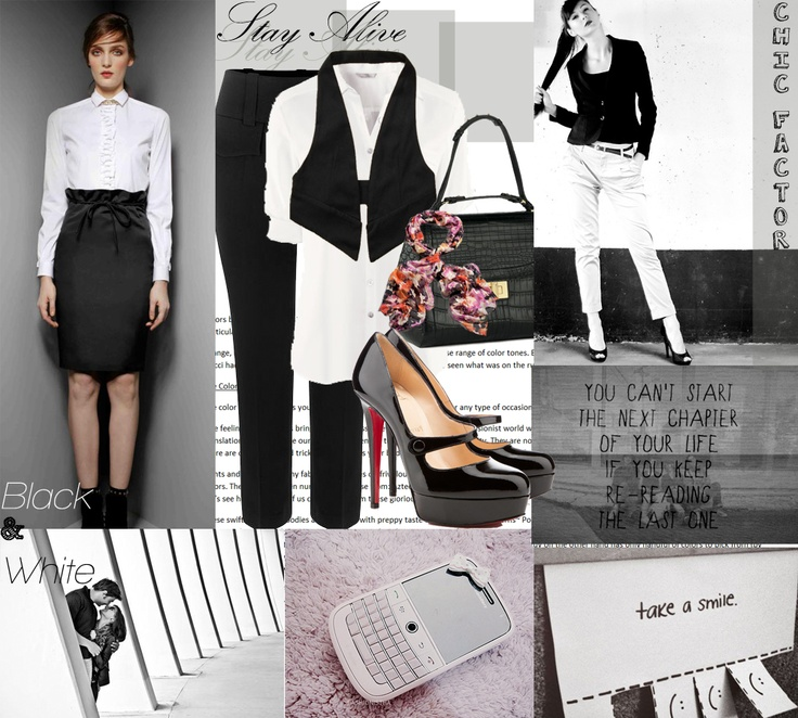 Here's how you style Black & White <3