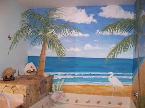 Image detail for -... Tags › Bathroom Wall Murals , Beach Wall Mural , Tropical Wall Mural