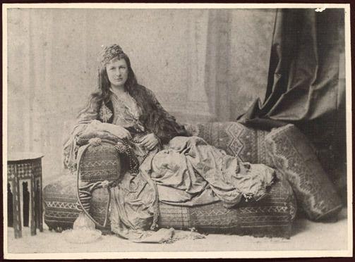 "Portrait of Mrs. Jessie Catherine Couvreur, nee Hybers (""Tasma""), 1889"