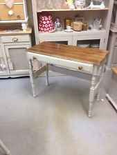 Shabby Chic Vintage Pine Dressing Table,Writing desk,Console+Drawer, Furniture