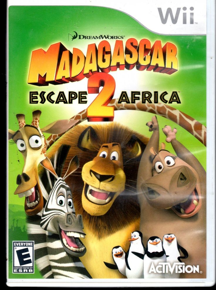 Madagascar:+Escape+2+Africa+Wii+Game #wiigames