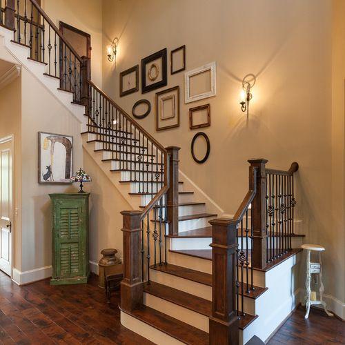 17 mejores ideas sobre escaleras de madera pintada en for Soluciones para escaleras