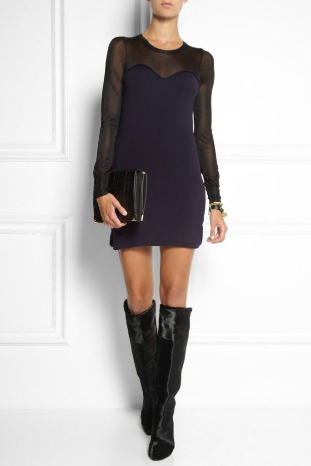 Trendy women's winter boots 2014. What to wear with?