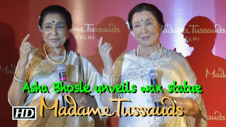 Asha Bhosle MEETS Asha Bhosle | Madame Tussauds , http://bostondesiconnection.com/video/asha_bhosle_meets_asha_bhosle__madame_tussauds/,  #ashabhoslebanglagaan #ashabhoslehits #ashabhoslekegane #ashabhoslelive #ashabhoslevideosong #ashabhoslewaxstatue #madametussaudsdelhiopening #madametussaudsdelhistatues #madametussaudsdelhitickets