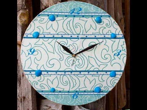 DIY craft tutorial & decoupage for beginners - YouTube