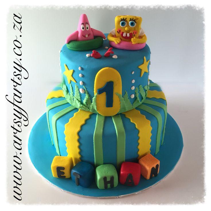Sponge Bob Square Pants Cakes #spongebobsquarepantscake