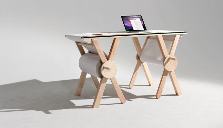 La scrivania analogica