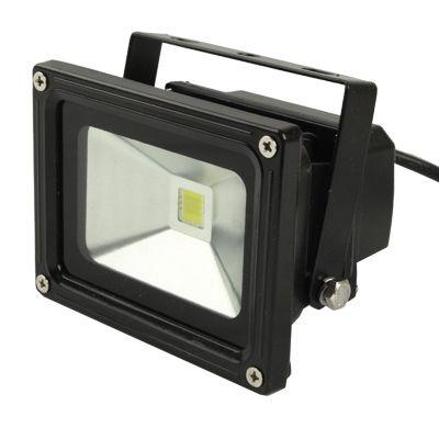 [USD6.20] [EUR5.84] [GBP4.55] High Power 10W Waterproof LED Floodlight Lamp, AC 85-265V, Luminous Flux: 800-900lm (Black)