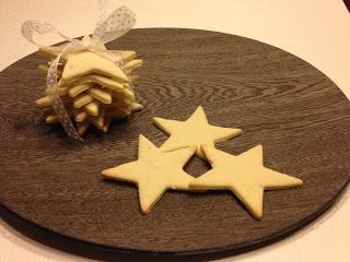 Kagemums/My little pretty blog: Vanilje stjerner med et twist af citron