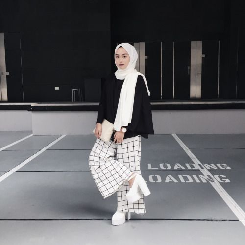 58 Best Celana Panjang Images On Pinterest Hijab Casual Hijab