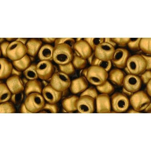 Toho Seed Beads Size 6 - HYBRID Galvanized Goldenrod
