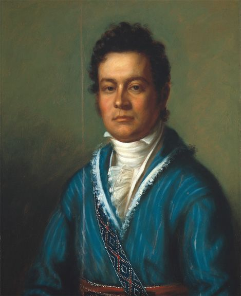 Portrait of Cherokee chief David Vann by Charles Bird King, 1825 - Wikipedia