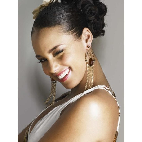 Alicia Keys - news, pictures, reviews, biography, videos, best songs,... ❤ liked on Polyvore
