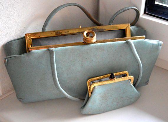 Antique ladies handbag and wallet