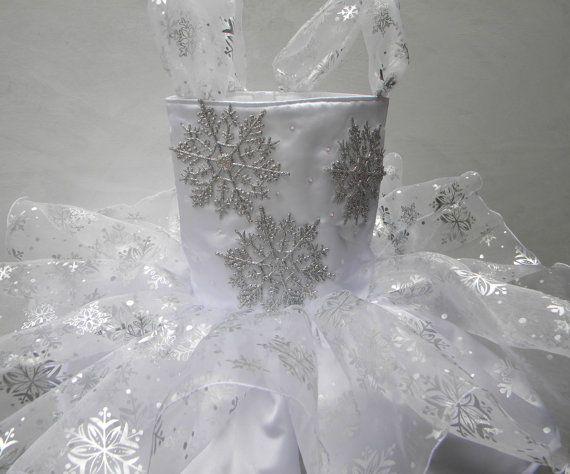 Toddler Holiday Fantasy Snow Princess by ThePolkaDotRabbits