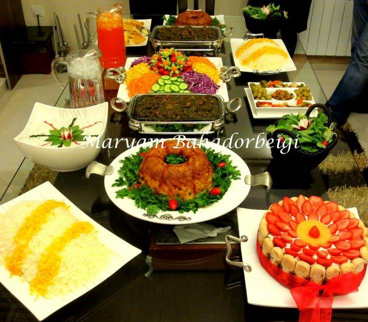 Fabulous Persian Food Table Prepared By Maryam