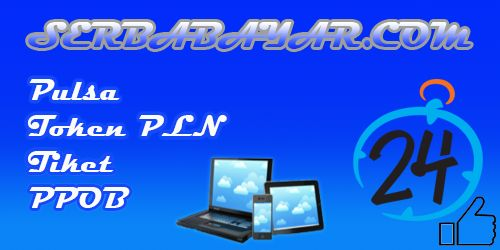 Pulsa Online Token PLN Voucher Game Tiket Pesawat / Kereta Api PPOB Online