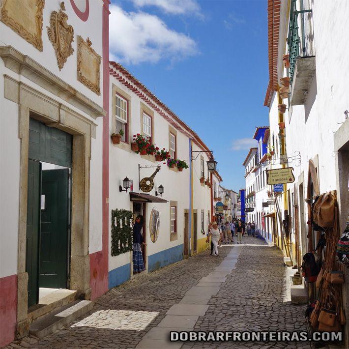 Óbidos: visitar a mais bela vila de Portugal - Dobrar Fronteiras