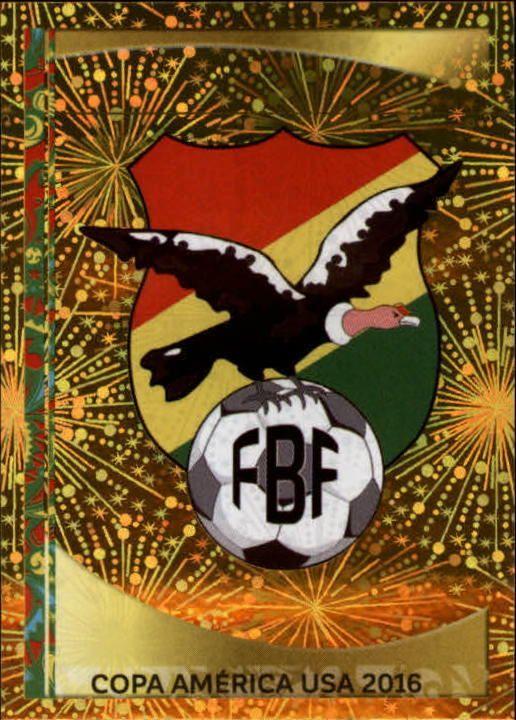 2016 Panini Copa America Centenario Stickers #374 Bolivia Logo Foil