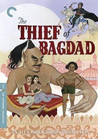 The Thief Of Bagdad Sabu, John Justin, Conrad Veidt, June Duprez, Rex Ingram, Miles Malleson, Mary Morris