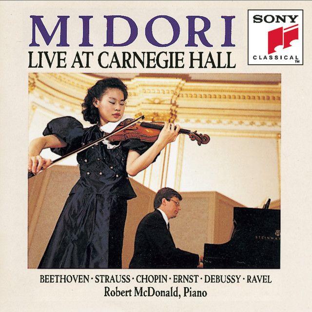 Midori: Live at Carnegie Hall, an album by Midori on Spotify