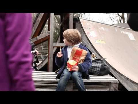 This is a cute and funny McDonald's commercial from Germany. Sad little kid keeps getting his french fries stolen by older kids, so he devises a plan to stop it. #tv #german #lol #funny #television #mcdonalds
