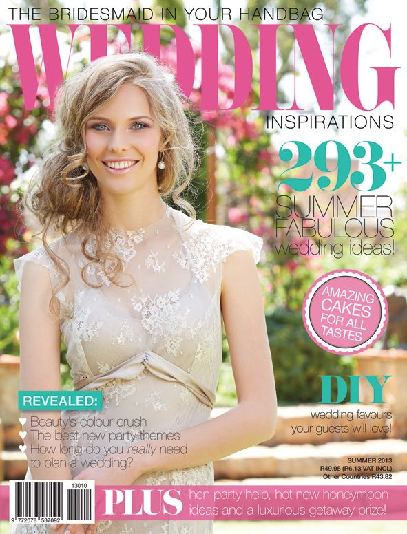 It's Summer 2013 (December) and we just love our new issue! www.weddinginspirations.co.za