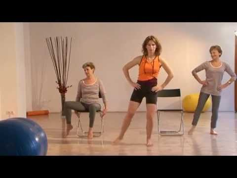 Stretching matinal - Exercices pour sénior, Anti-âge - YouTube